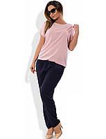 Повседневный женский костюм размеры от XL 4009