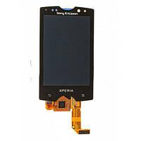 Sony Ericsson SK17 Дисплей с сенсорным экраном черный, фото 1
