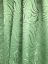 Штори оптом 1.5 м зелений-20