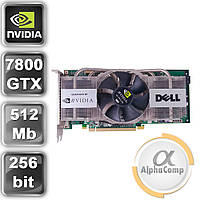 Видеокарта PCI-E NVIDIA DELL 7800GTX (512Mb/GDDR3/256bit/2xDVI/TV) б/у