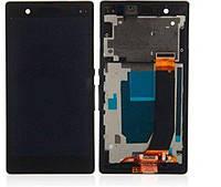 Sony Xperia Z C6602 LT36h Дисплей  с рамкой, черный