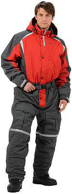Костюм Jahti Jakt Red/Grey overall для снегохода/квадроцикла или зимней рыбалки
