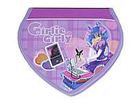 Пенал школьный Tiger Girlie Girly 2617E 1 отделение