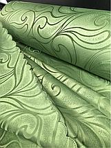 Шторы оптом 1.5м зелёный В-20, фото 3