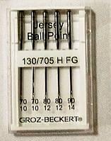 """790204 Иглы швейные """"GROZ-BECKERT"""" для бытовых машин (для трикотажа №70,№75,№80,№90)"""