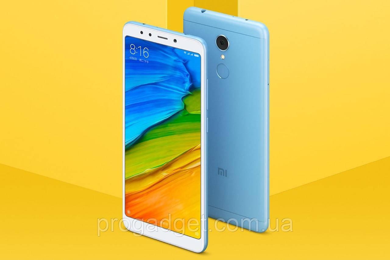 "Xiaomi Redmi 5 Plus 3/32 blue - голубой Безрамочный смартфон 5.99"" FullHD+, SD625 Global Version!"