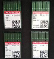 """790302 Иглы швейные """"GROZ-BECKERT"""" для промышленных машин DВx1 (№60,№65,№70,№80,№90.№100,№110)"""