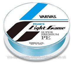 Шнур VARIVAS NEW AVANI Light Game PE, 150m, #0,4