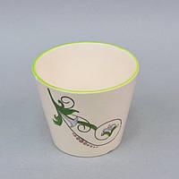 """Вазон керамический для цветов """"Fleur"""" FYS6929-2, размер 12х14 см, вазон для комнатных растений, горшок для растений"""