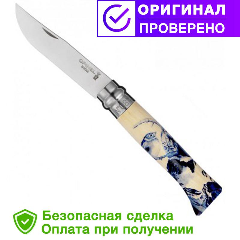 Туристический нож Opinel (опинель) Inox 125-lat No.08 (001908)