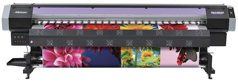 Широкоформатный принтер Mimaki SWJ-320 серии