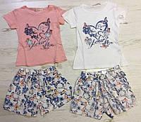 Комплект 2 в 1 для девочек оптом, Dream Girl, 98/104-122/128 см,  № 3710, фото 1