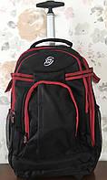 Дорожная сумка-рюкзак на колесах с выдвижной ручкой