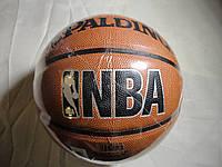 Мяч баскетбольный Spalding NBA серебро PU Реплика