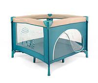 Детский манеж Milly Mally Crib Fun Blue Beach Crib_001