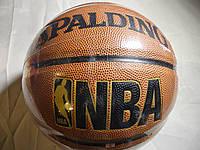 Мяч баскетбольный Spalding NBA золото Реплика