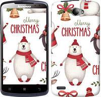"""Чехол на Lenovo S920 Merry Christmas """"4106c-53-10409"""""""