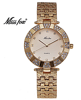 Женские наручные часы Miss Fox gold/gold (20621)