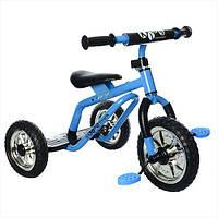 Трехколесный велосипед Profi Kids M 0688-4 для самостоятельной езды Blue