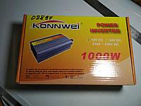 Инвертор наприжения 12V/220V., 1000W Konwei
