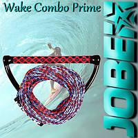 Рукоятка для вейкбординга JOBE Wake Combo Prime Red
