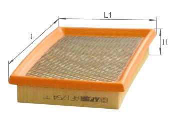 Фильтр воздушный Alpha Filter AF 1754S (AP 113/1)