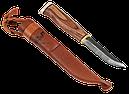 Финский нож Jahti Jakt со вставкой из рога лося на рукоятке, фото 2