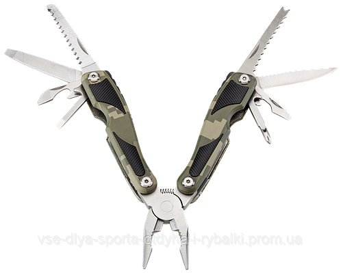 Нож - мультитул камуфлированный Jahti Jakt Handyman Camo
