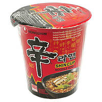 Лапша быстрого приготовления с грибами Shin Cup Nong Shim 68 г