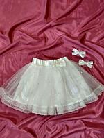 Фатиновая юбка - повседневная, фото 1
