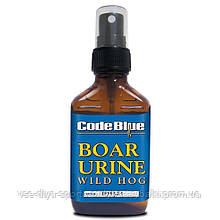 Приманка на кабана Code Blue, запах доминантного самца, спрей