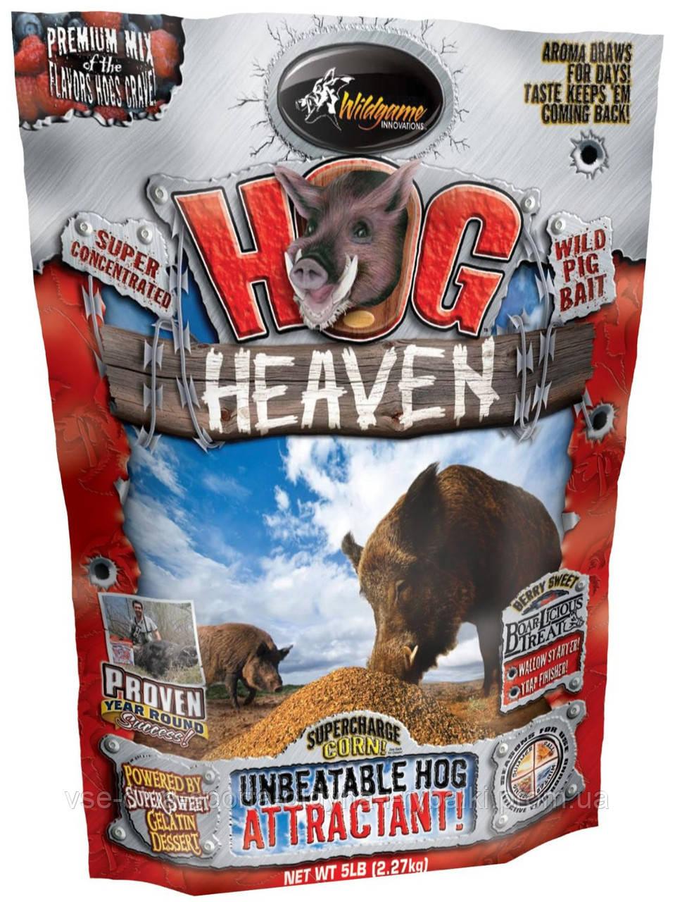 Приманка на кабана Hog Heaven пищевая подкормочная