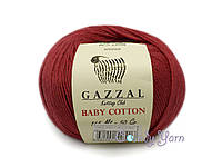 Gazzal_Baby Cotton_Рубин №3439