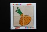 Детские деревянные кубики Овощи Komarovtoys (T 607)