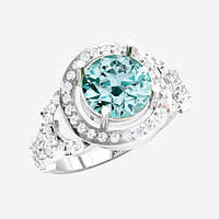 Кольцо  женское серебряное Надежда ВKE-1479