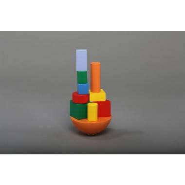 Игра балансир Кривая башня Komarovtoys (А 351)