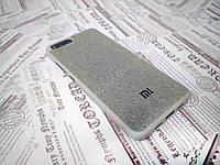 Силиконовый чехол Textile для Xiaomi Mi6