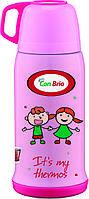 Вакуумный детский термос 500 мл Con Brio СВ-346розов