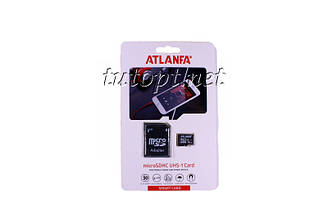 "Карта памяти  Atlanfa 16GB ""ОРИГИНАЛ"" - Premium. Гарантия 1 год"