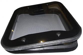 Люк стеклянный автомобильный, 50х65, с аварийным выходом