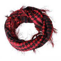 Легкий шарф с бахромой От XS to M