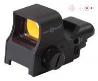 Коллиматорный прицел Sightmark Mini на Weaver 2 уровня яркости подсветки