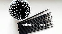 Микробраши (аппликаторы) UNIGLOVES черные(100 шт), фото 1
