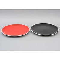 """Тарелка керамическая для кухни """"Breakfast"""" CB281, размер 26 см, 5 видов, тарелка для продуктов, тарелка на кухню, кухонная тарелка"""