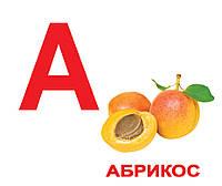 Карточки Домана Алфавит, большие карточки с фактами (рус) 34 шт