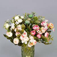 """Композиция цветочная для декора """"Лютики"""" SUB181, размер 29х15 см, разные цвета, декоративный цветок, искусственное растение"""