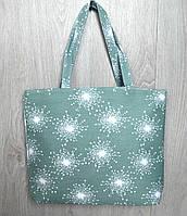 Пляжная, городская сумка с принтом одуванчики