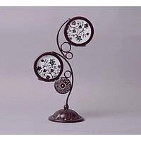 """Подсвечник декоративный для свечей """"Nature"""" RH11002, металл, 25х9 см, на 2 свечи, подставка для свечи, подсвечник для декора, декор-подсвечник, фото 1"""
