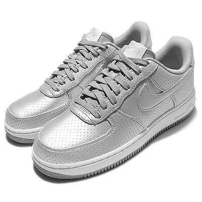 eac1d75b7457 Nike Air Force 1 07 LV8 Dream Team-Metallic Silver. Интернет магазин  кроссовок.