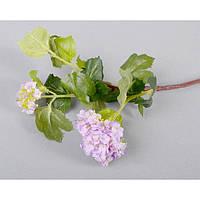 """Композиция цветочная для декора """"Веточка"""" SUB8064, размер 60х12 см, декоративный цветок, искусственное растение, букет искусственных цветов"""